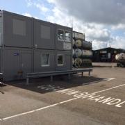 Tank Services Pernis (TSP) neemt nieuw acceptatiekantoor, cafetaria en toiletten/douches in gebruik.
