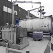 Tank Services Pernis (TSP) obtain a new Gröninger latex- and resin recirculation unit.